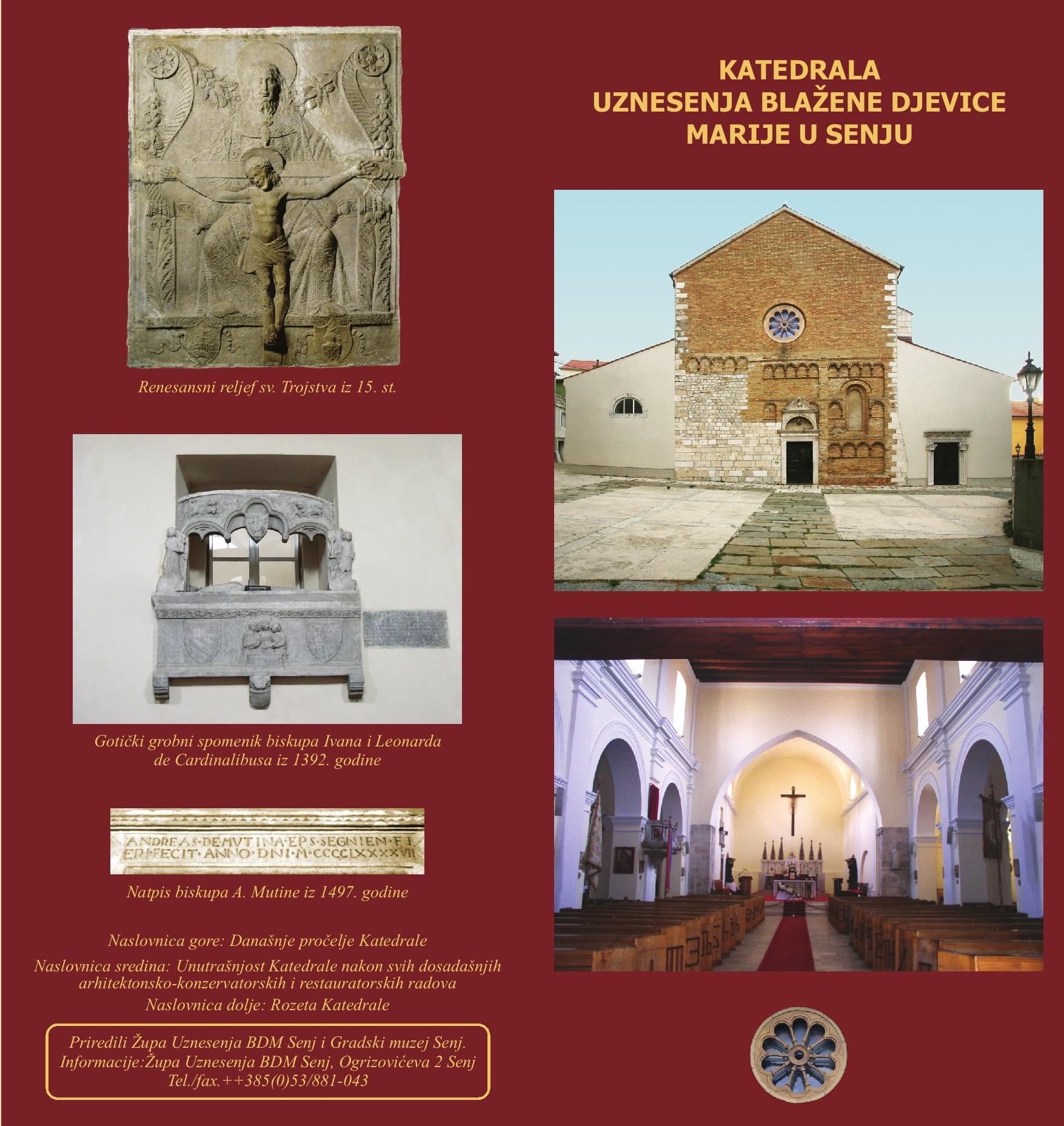 Prospekt Senjska Katedrala Uznesenja Blazene Djevice Marije