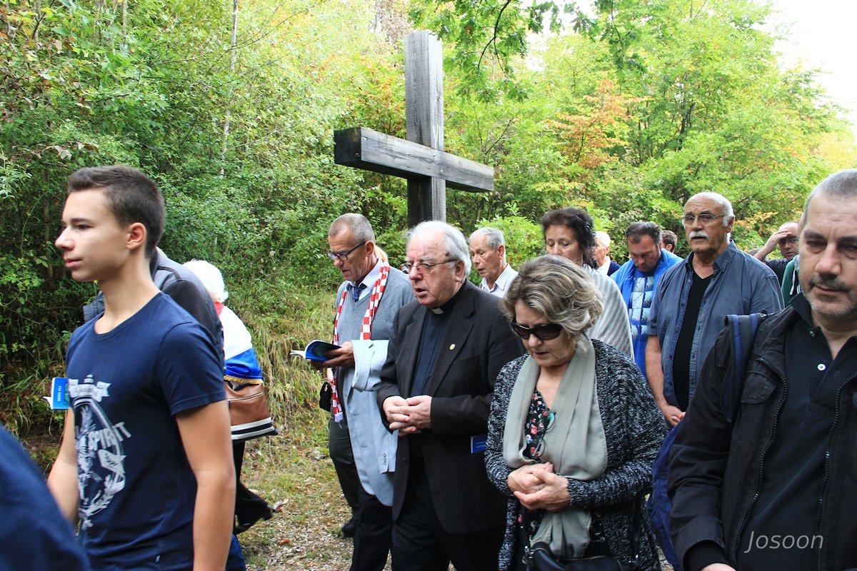 udb dhm 2017 biskup Mile Bogović u križnom putu
